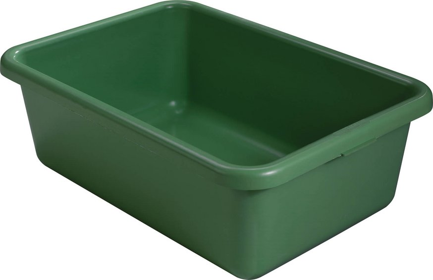 Rectangular container green