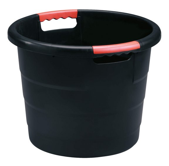 Universal round container anthracite